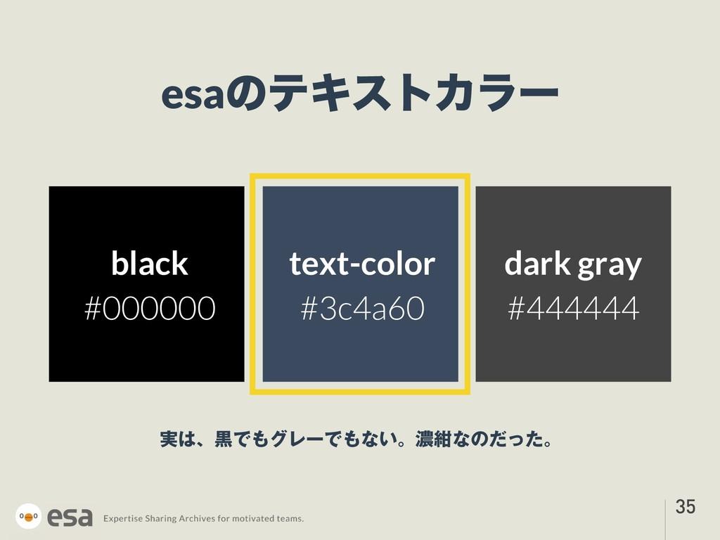 !35 esaͷςΩετΧϥʔ ࣮ɺࠇͰάϨʔͰͳ͍ɻೱࠠͳͷͩͬͨɻ text-co...