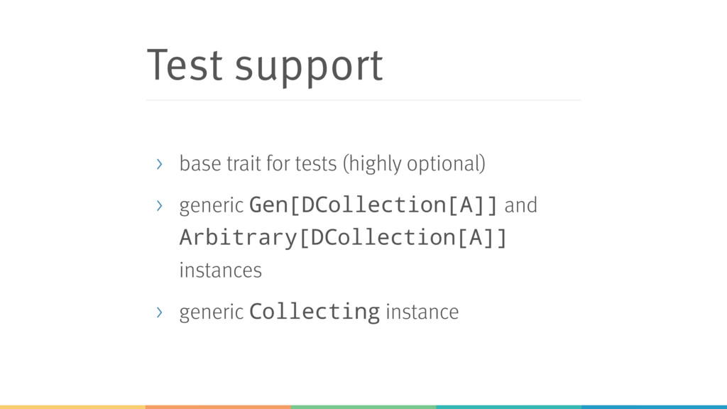 Test support > base trait for tests (highly opt...