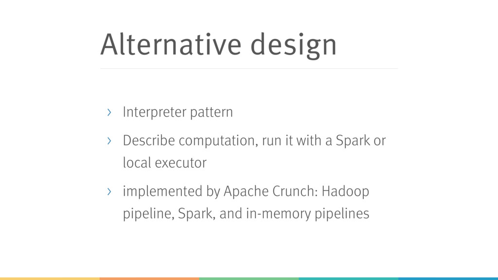Alternative design > Interpreter pattern > Desc...