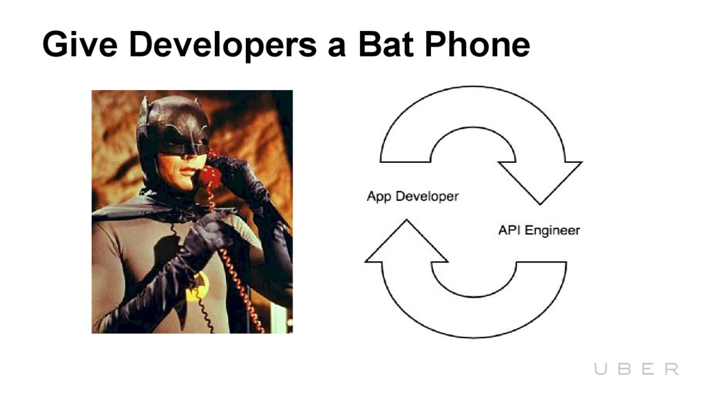 Give Developers a Bat Phone