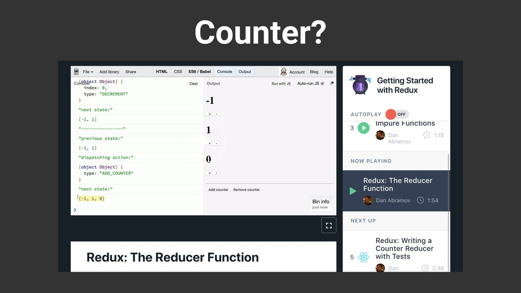 Counter?
