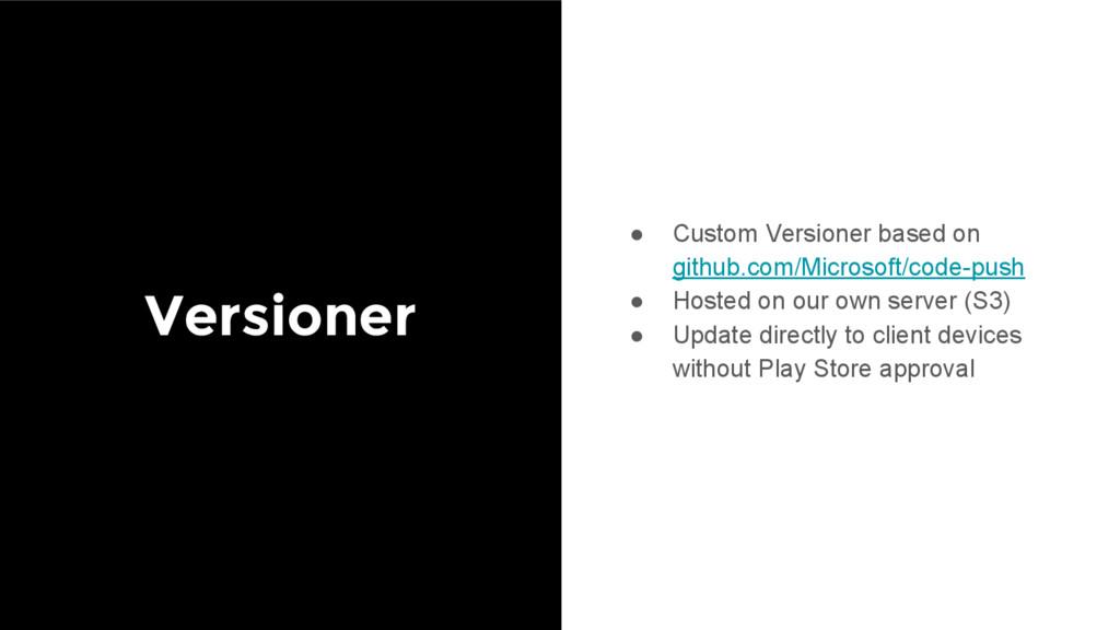 Versioner ● Custom Versioner based on github.co...