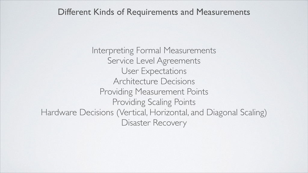 Interpreting Formal Measurements  Service Lev...