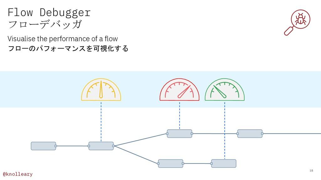 @knolleary Flow Debugger フローデバッガ 18 Visualise t...