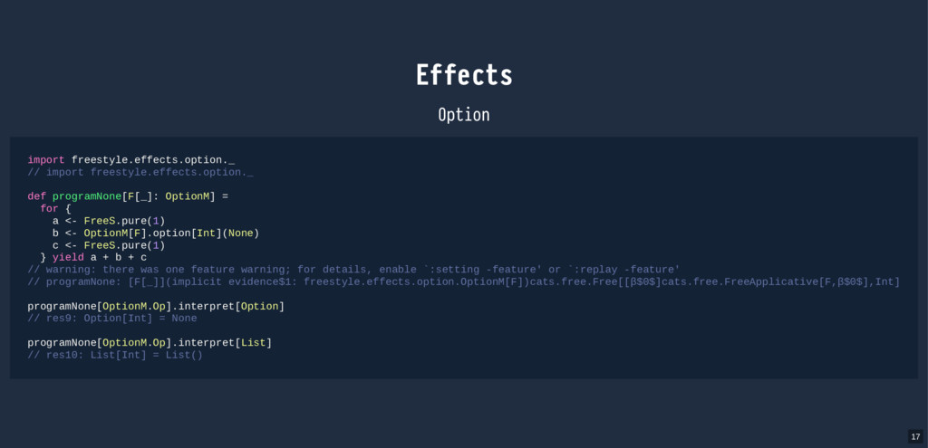 Effects Option import freestyle.effects.option....