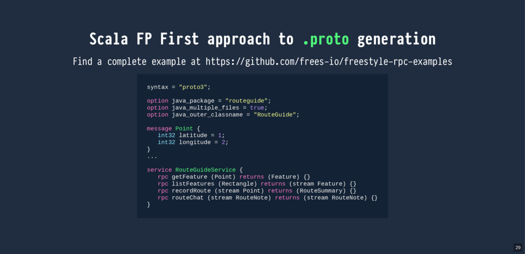 Scala FP First approach to .proto generation Fi...
