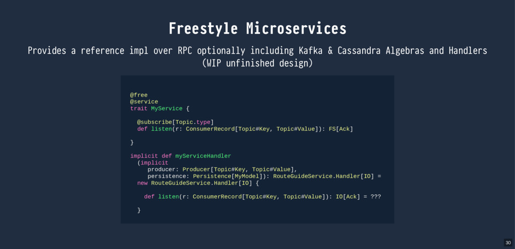 Freestyle Microservices Provides a reference im...