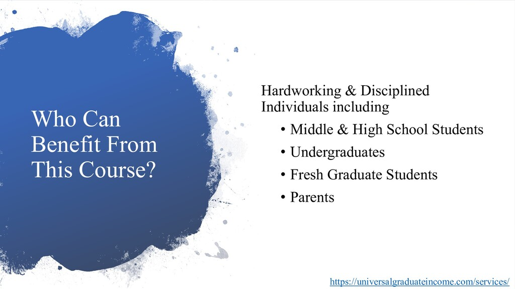 Who Can Benefit From This Course? Hardworking &...