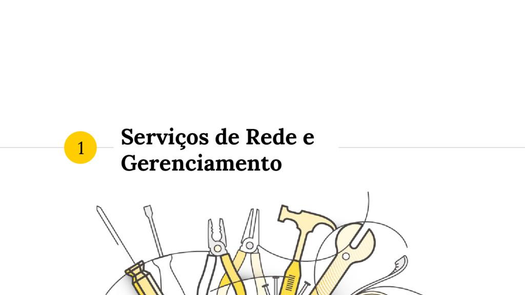 Serviços de Rede e Gerenciamento 1