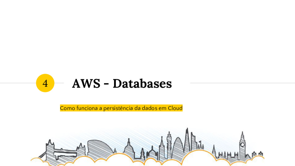 AWS - Databases Como funciona a persistência da...