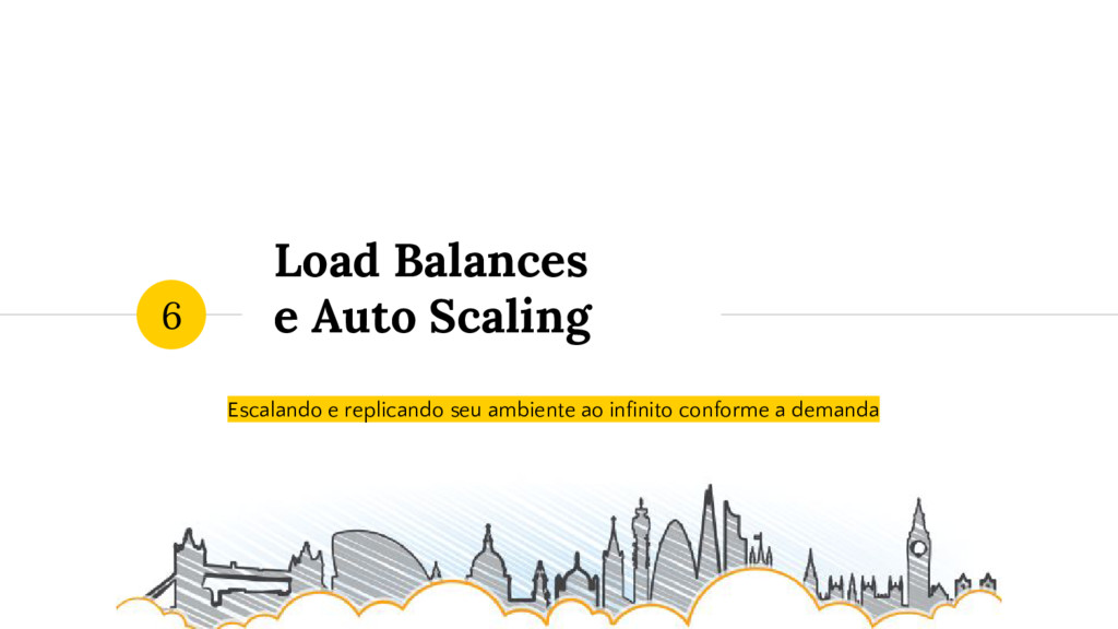 Load Balances e Auto Scaling Escalando e replic...