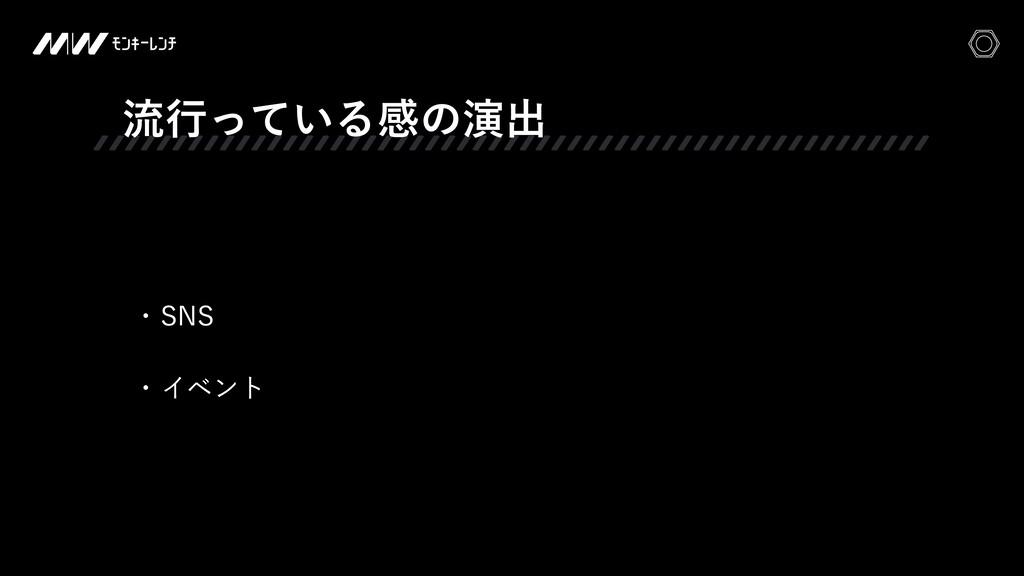 ྲྀߦ͍ͬͯΔײͷԋग़ w 4/4 w Πϕϯτ