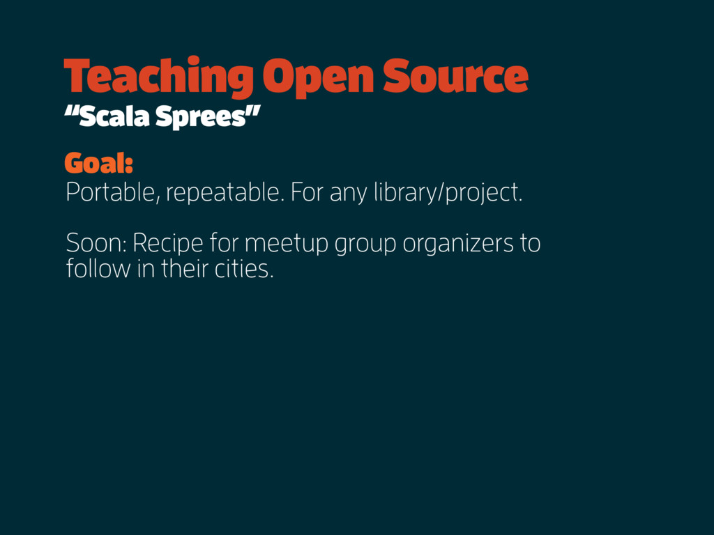 Portable, repeatable. For any library/project. ...