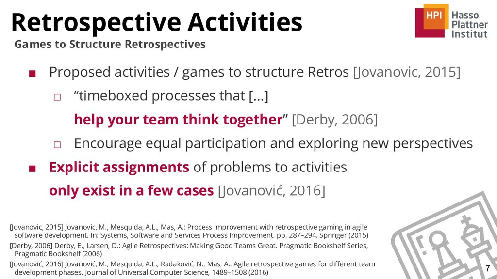 Retrospective Activities 7 Games to Structure R...