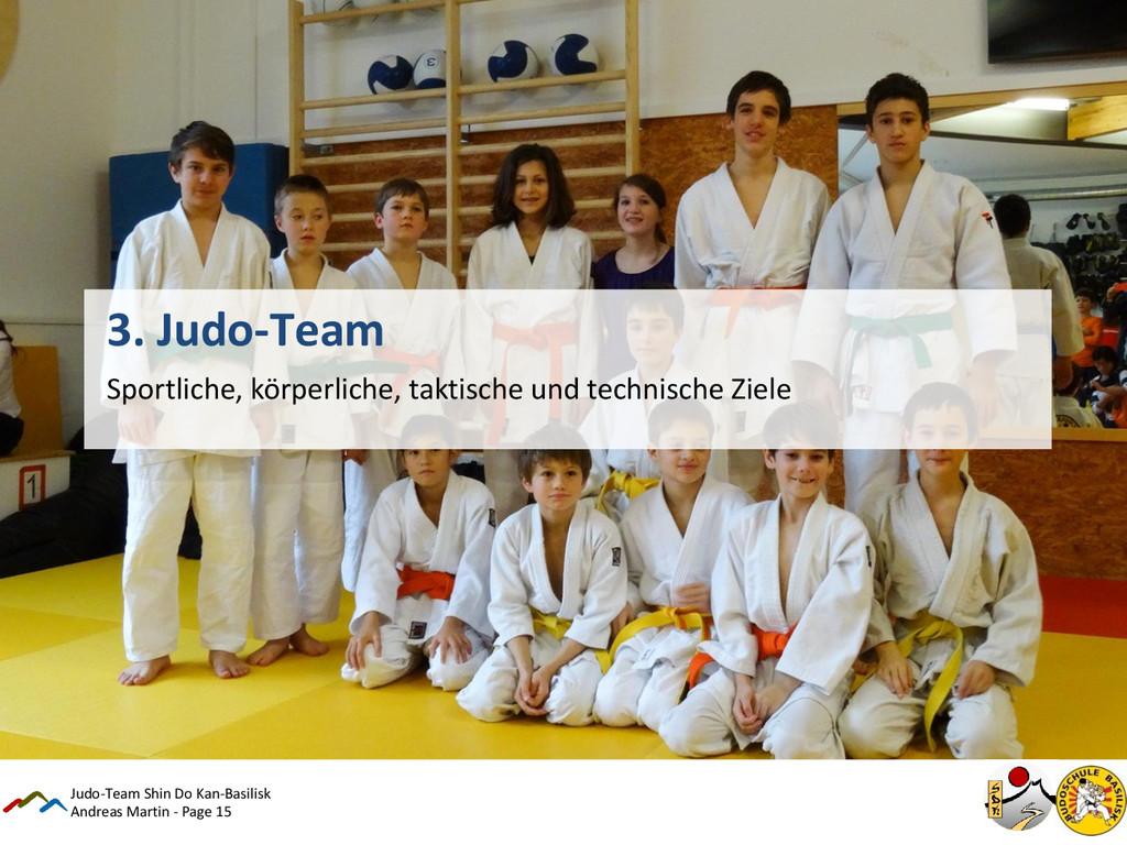 Andreas Martin - Page 15 3. Judo-Team Sportlich...