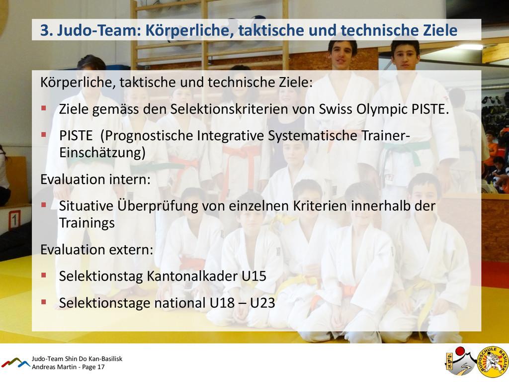 Andreas Martin - Page 17 3. Judo-Team: Körperli...