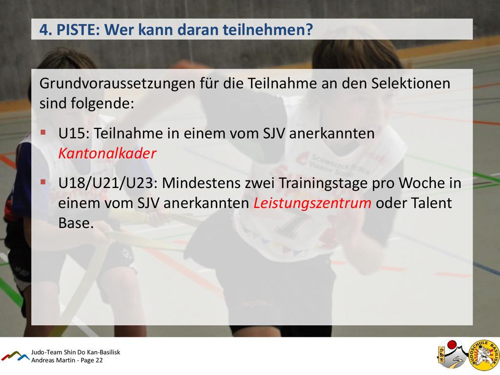Andreas Martin - Page 22 4. PISTE: Wer kann dar...