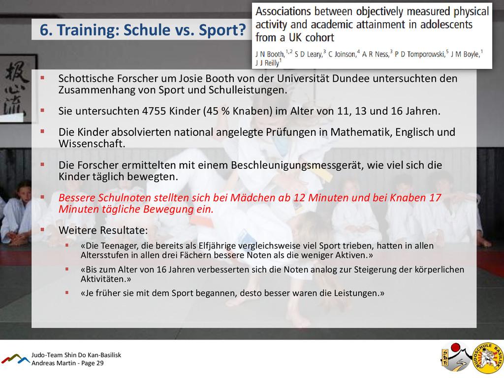 Andreas Martin - Page 29 6. Training: Schule vs...