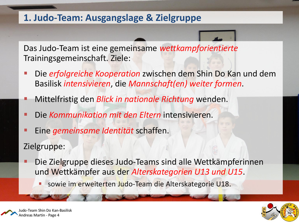 Andreas Martin - Page 4 1. Judo-Team: Ausgangsl...