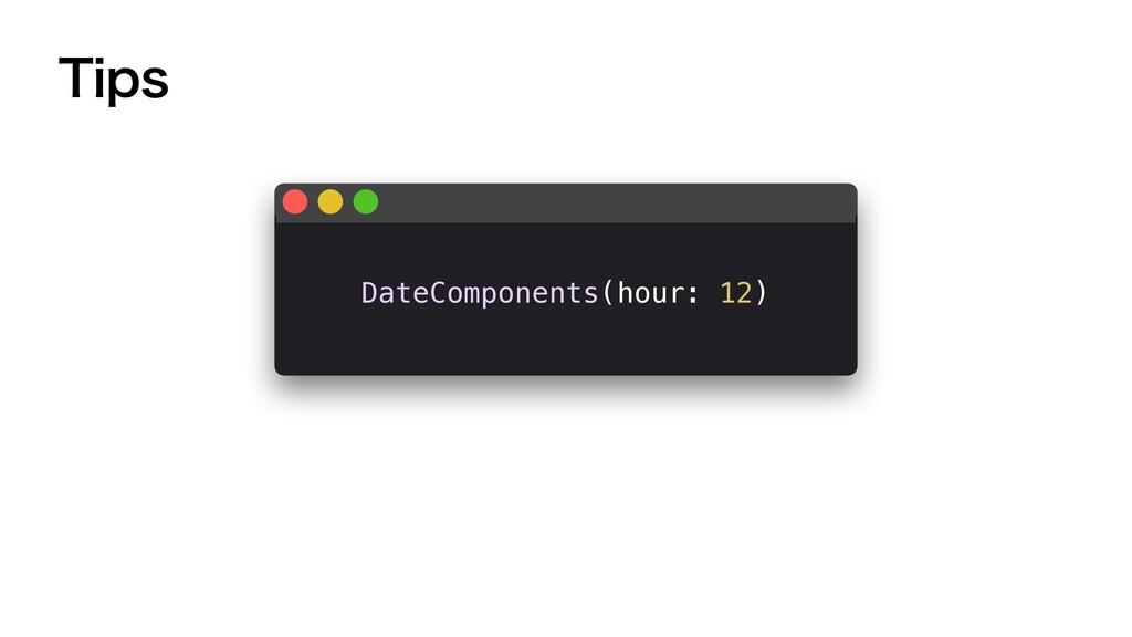 5JQT DateComponents(hour: 12)