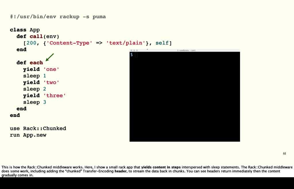 44 #!/usr/bin/env rackup -s puma class App def ...