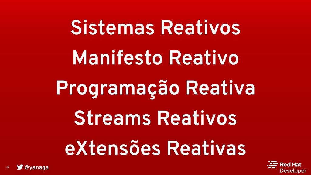 @yanaga 4 Sistemas Reativos Manifesto Reativo P...