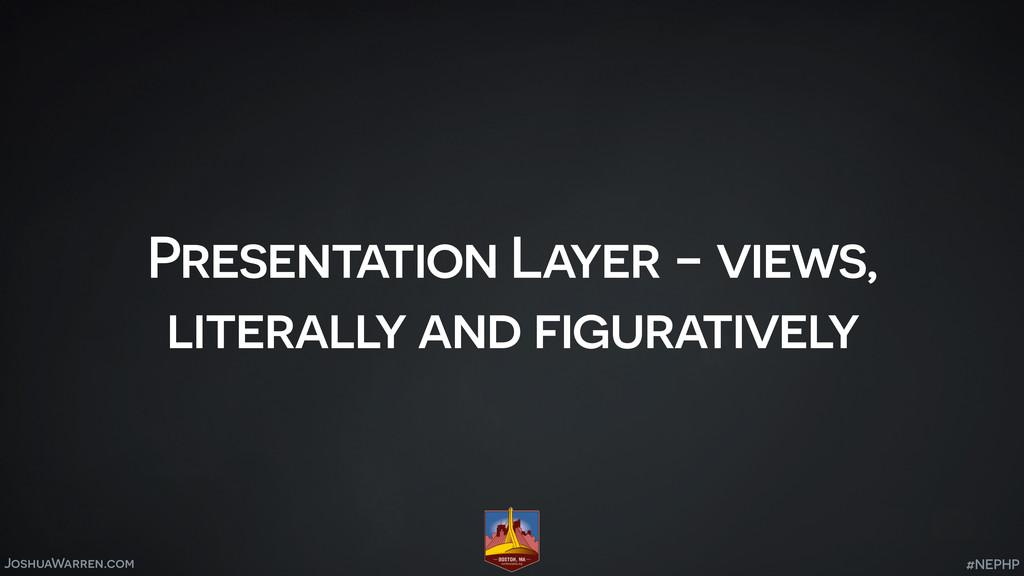 JoshuaWarren.com Presentation Layer - views, li...