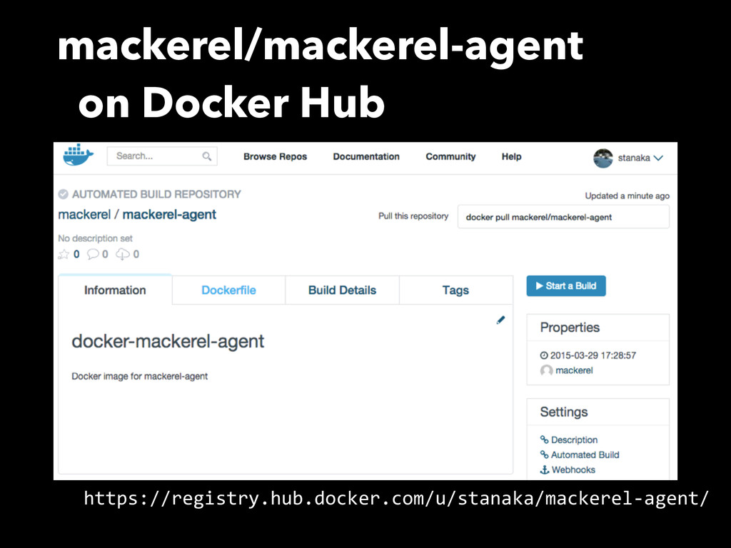 mackerel/mackerel-agent on Docker Hub https://r...
