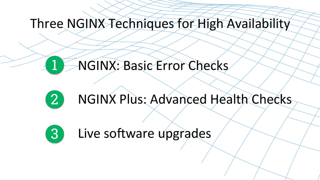 Three NGINX Techniques for High ...