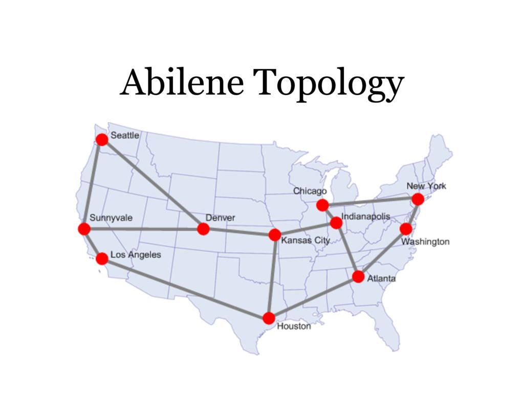 Abilene Topology