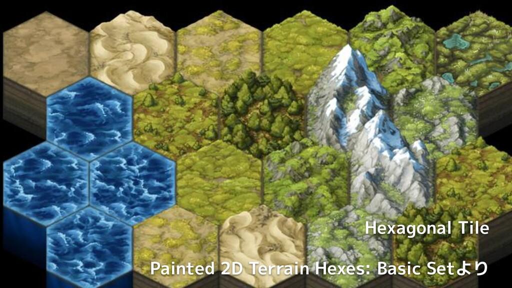 Unity公式ブログより Hexagonal Tile Painted 2D Terrain ...