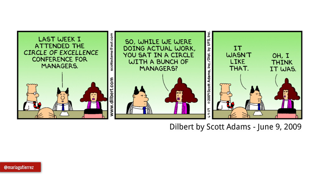 Dilbert by Scott Adams - June 9, 2009 @mariagut...