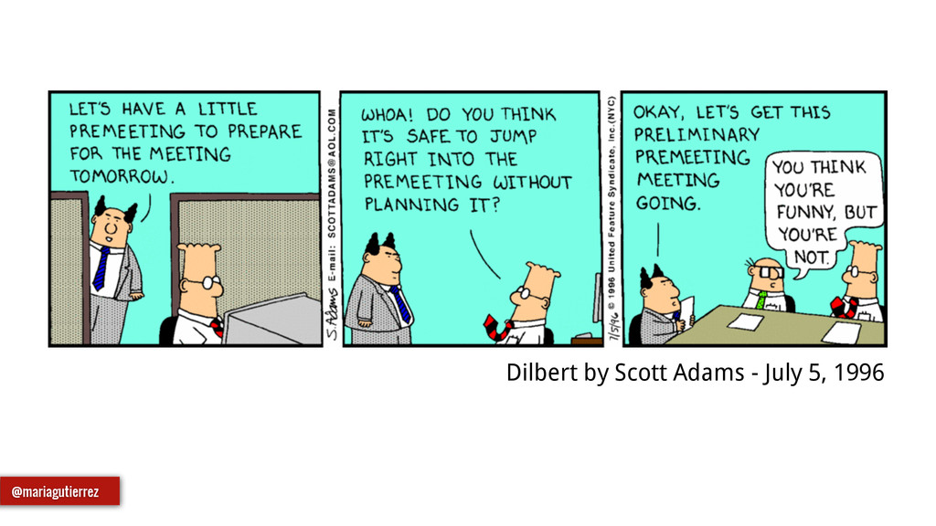 Dilbert by Scott Adams - July 5, 1996 @mariagut...