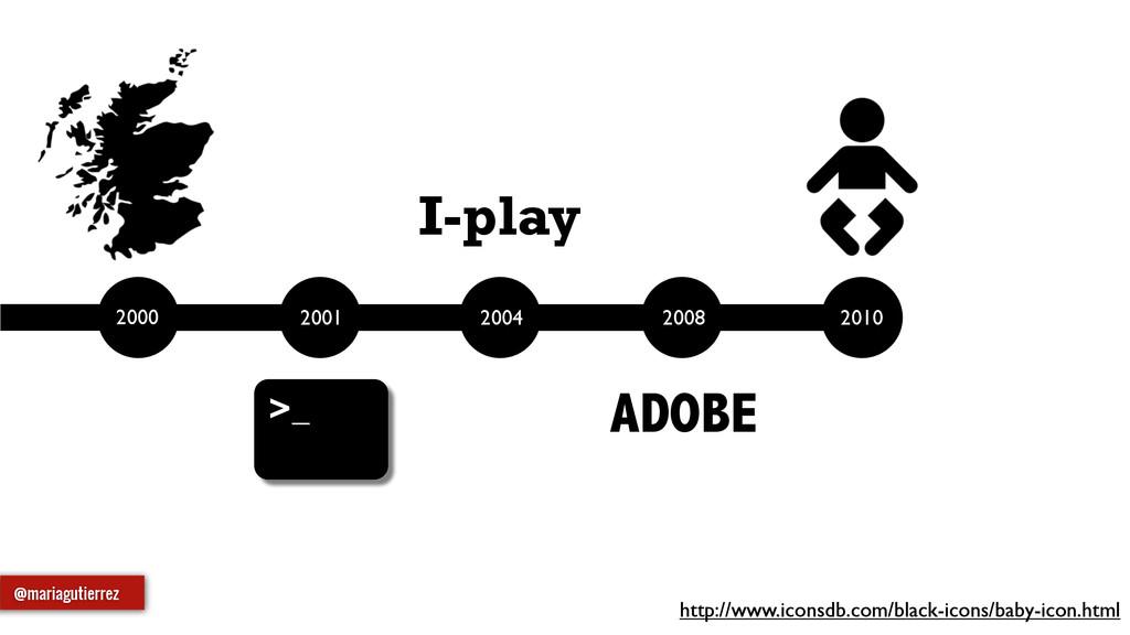 @mariagutierrez ADOBE I-play http://www.iconsdb...