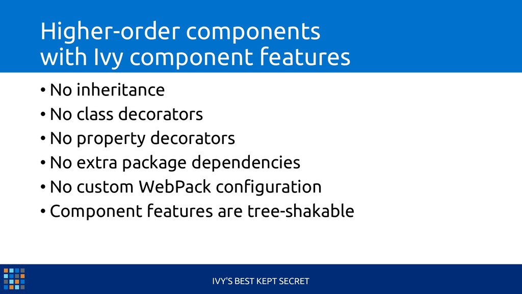 Higher-order components with Ivy component feat...