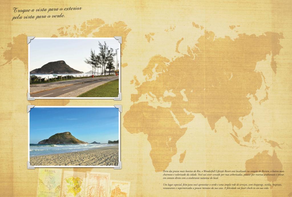 Perto das praias mais bonitas do Rio, o Wonderf...