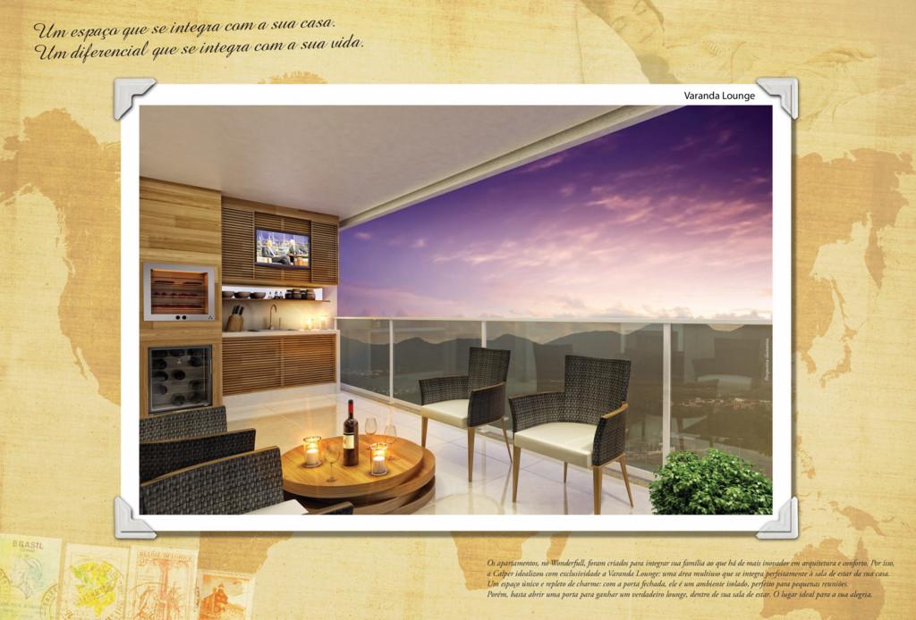 Os apartamentos, no Wonderfull, foram criados p...
