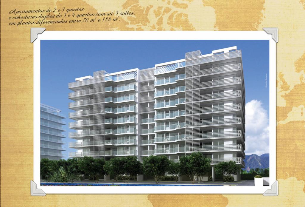 Apartamentos de 2 e 3 quartos e coberturas dupl...