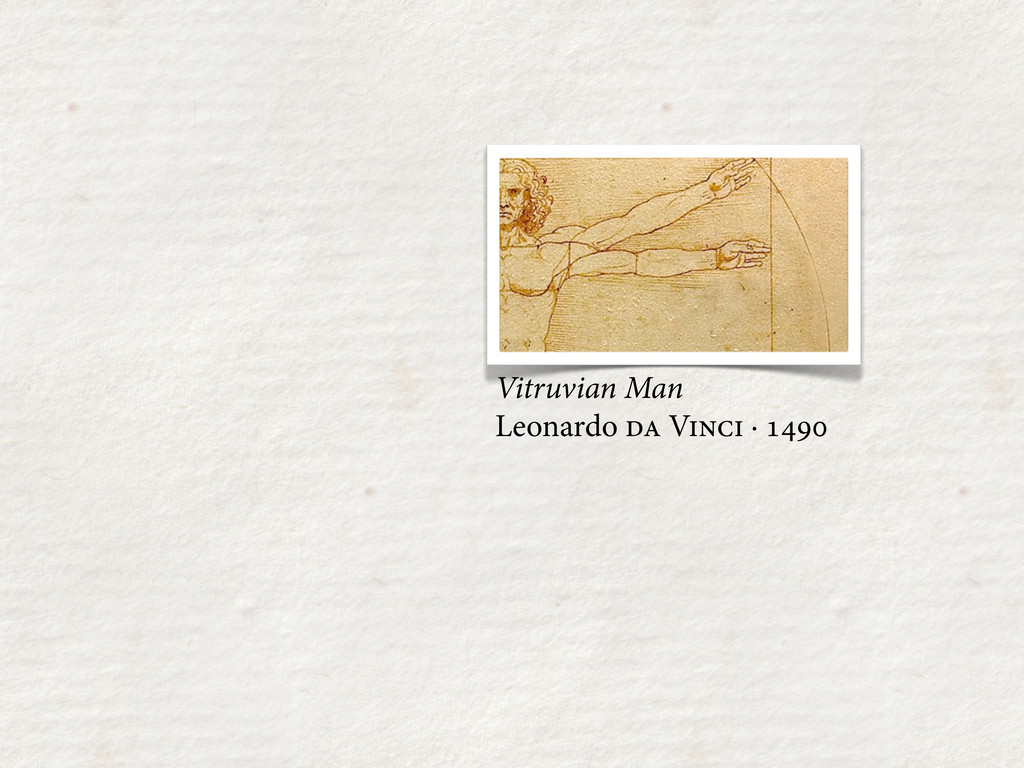 Vitruvian Man Leonardo  V · 