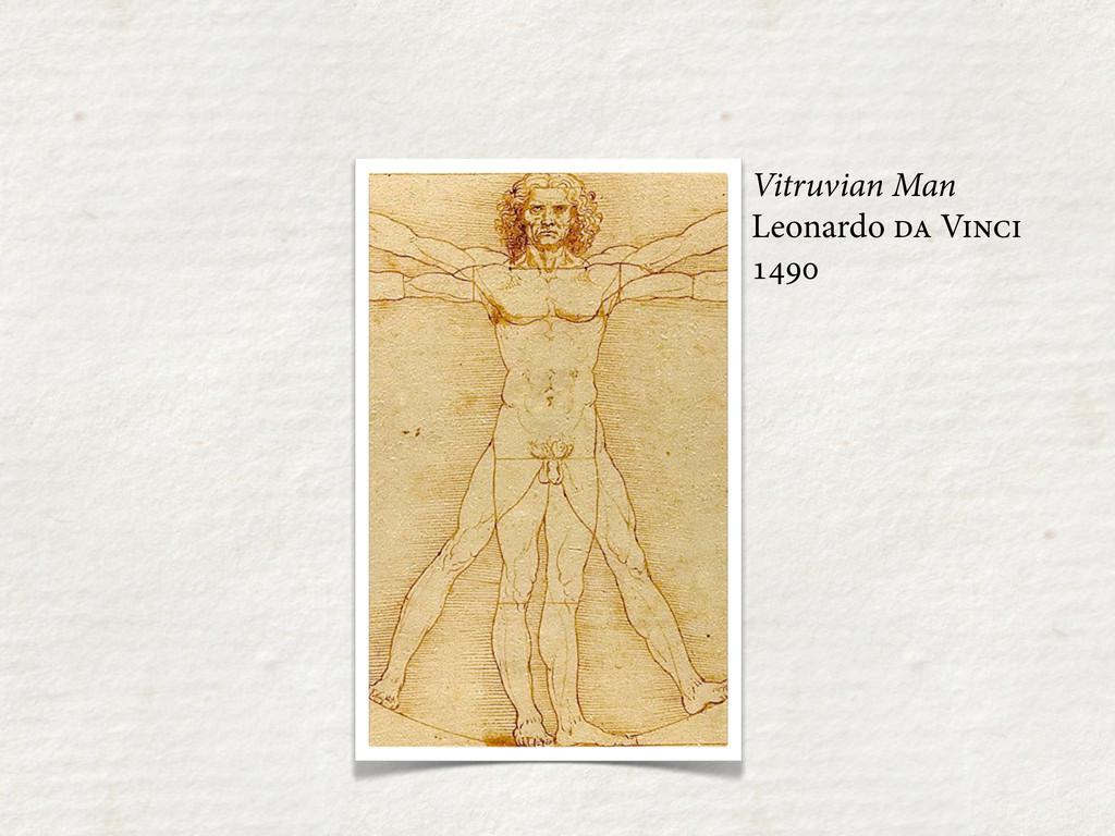 Vitruvian Man Leonardo  V 