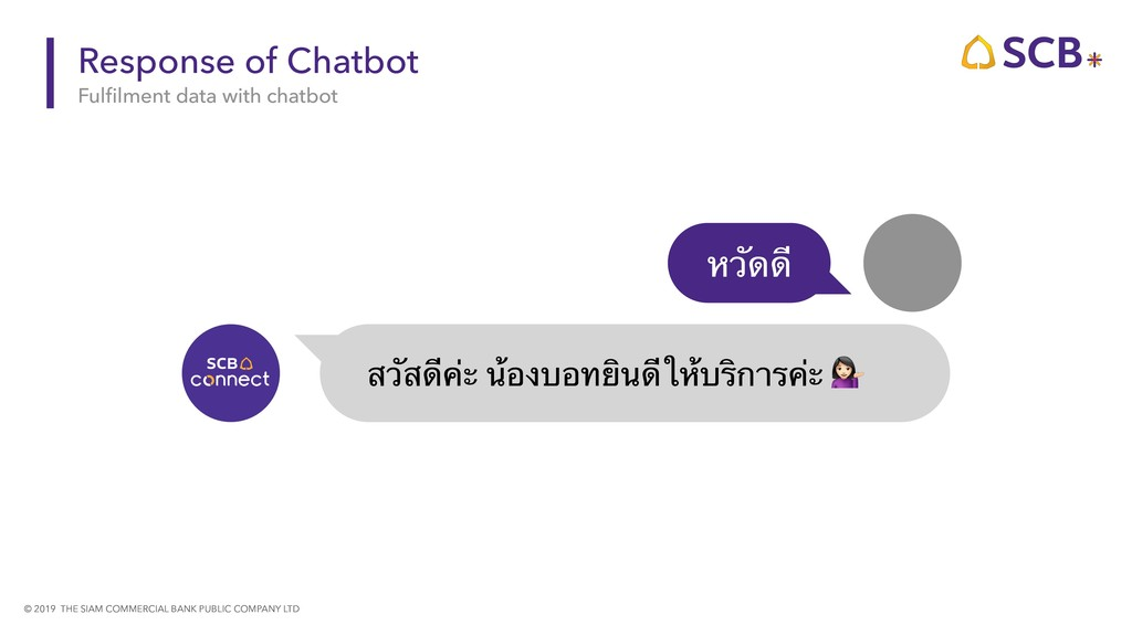 © 2019 THE SIAM COMMERCIAL BANK PUBLIC COMPANY ...