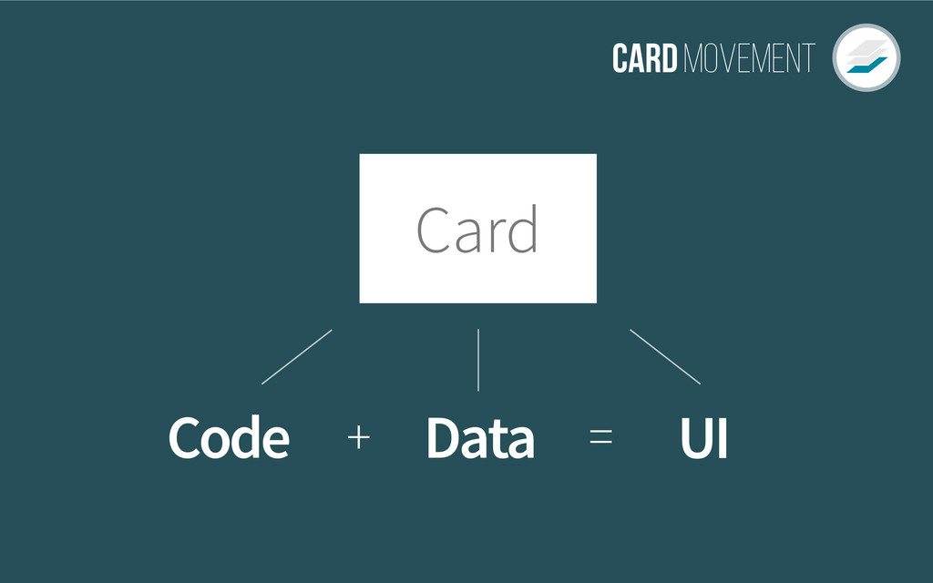CardMovement UI Code Data = + Card