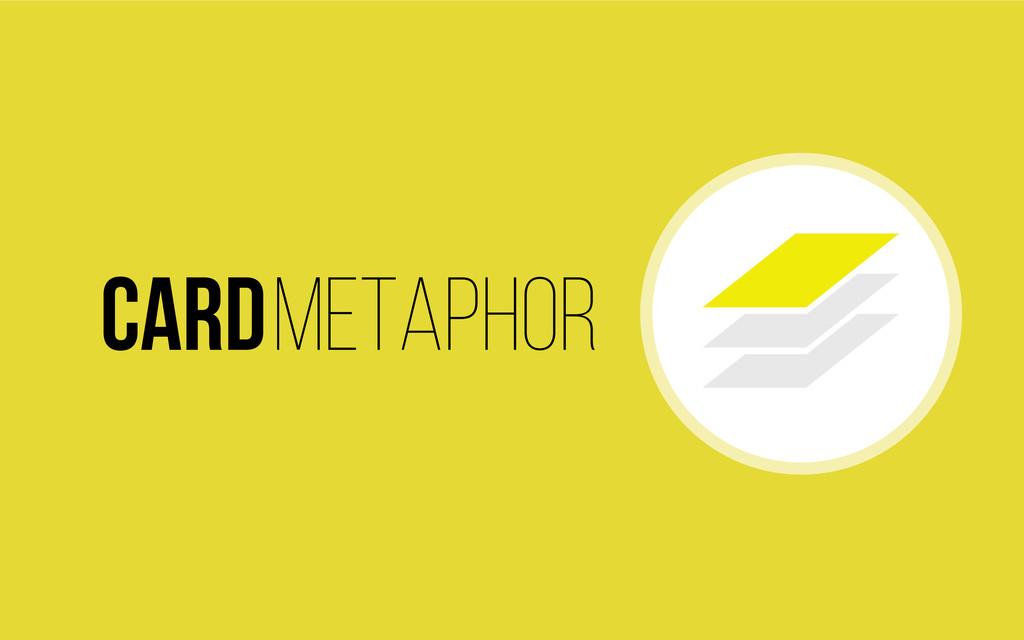 Cardmetaphor