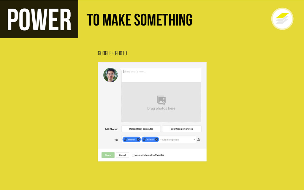Google+ Photo Power To Make Something
