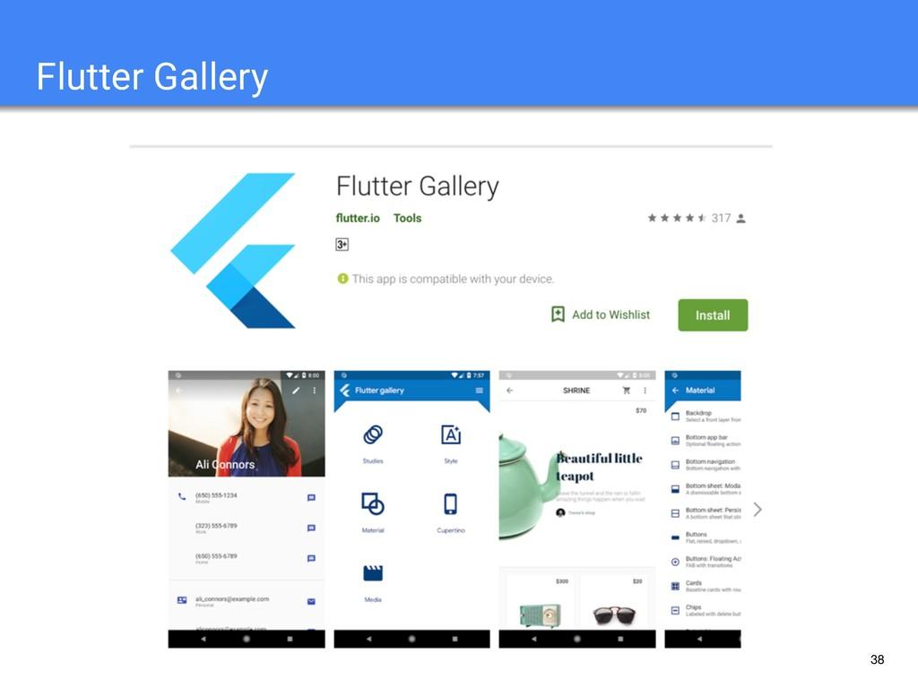 38 Flutter Gallery