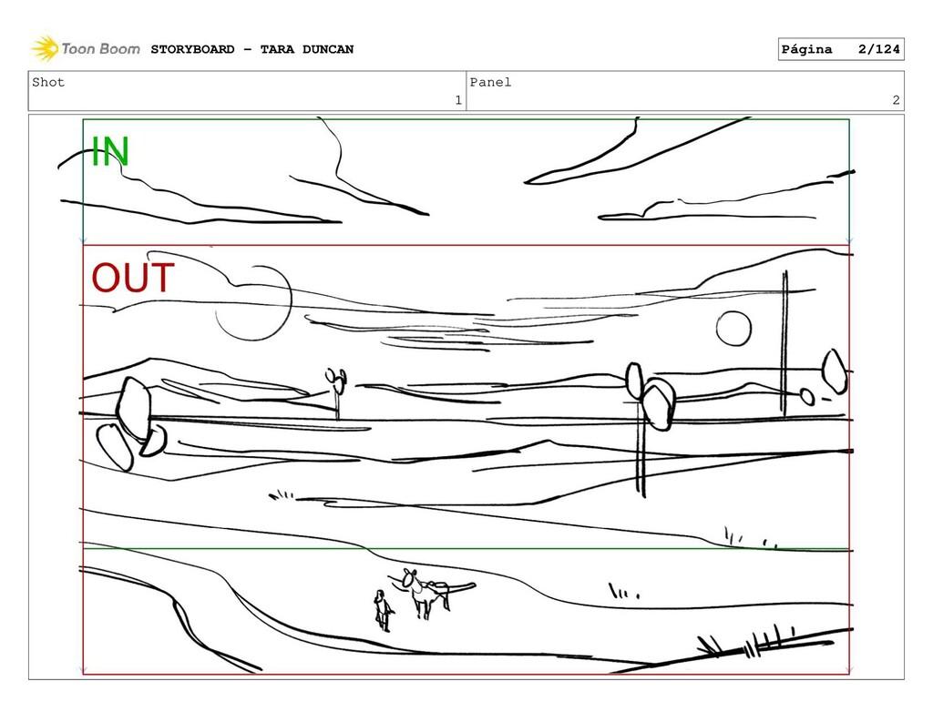 Shot 1 Panel 2 STORYBOARD - TARA DUNCAN Página ...