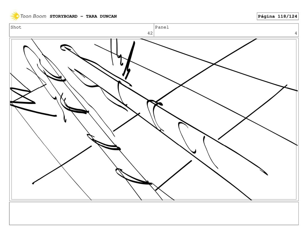 Shot 42 Panel 4 STORYBOARD - TARA DUNCAN Página...