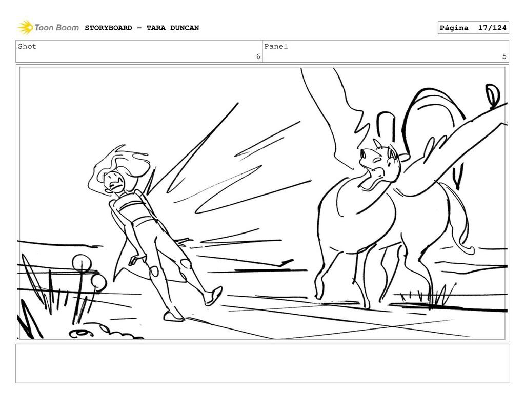 Shot 6 Panel 5 STORYBOARD - TARA DUNCAN Página ...