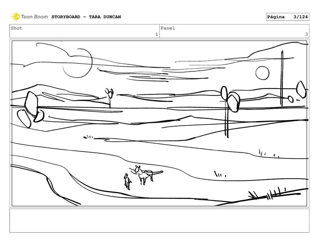 Shot 1 Panel 3 STORYBOARD - TARA DUNCAN Página ...