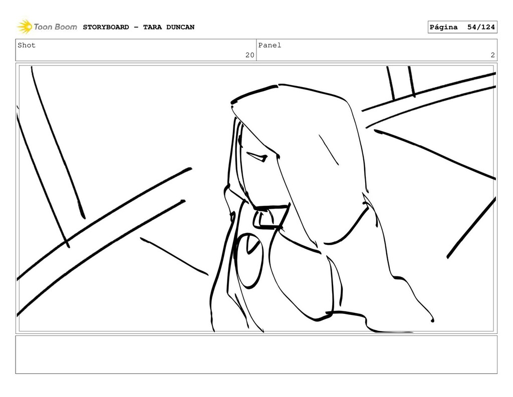 Shot 20 Panel 2 STORYBOARD - TARA DUNCAN Página...